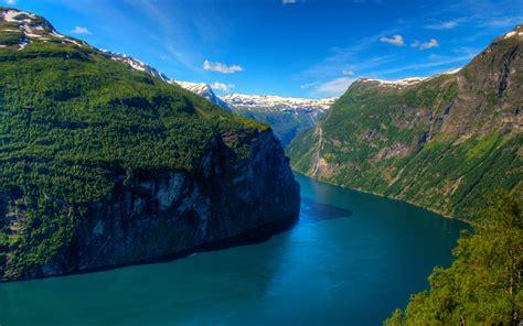 Geirangerfjord Fjord Norway Wallpapers Hd Wallpapers