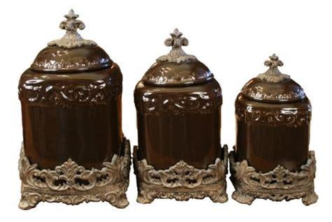 tuscan kitchen canister sets drake design  large