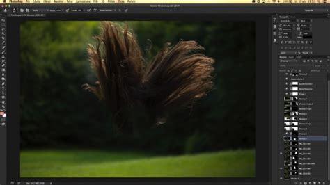 create  dramatic hair composition  photoshop