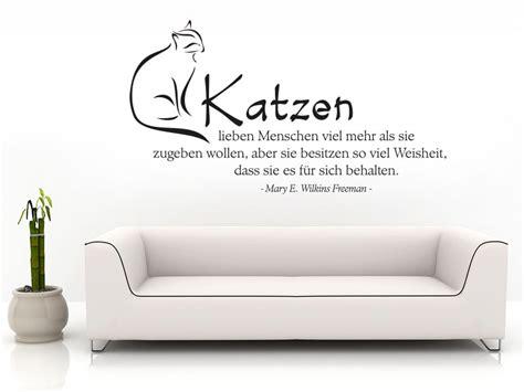 wandtattoo katzen lieben menschen viel mehr wandtattoos katze