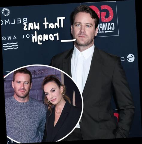 Armie Hammer Breaks Silence On Divorce, Blames It On ...