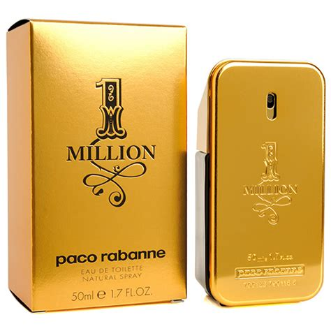 paco rabanne 1 million eau de toilette 50ml 1 7oz mens cologne homme perfume nib ebay