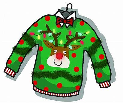 Sweater Clipart Ugly Tacky Silly Sweaters Cozy