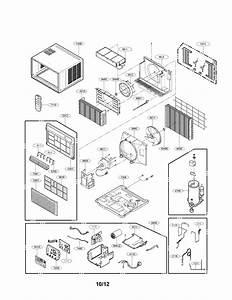 Lg Model Lw2512er Air Conditioner