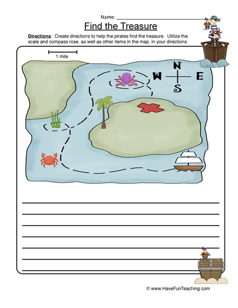 map worksheets teaching