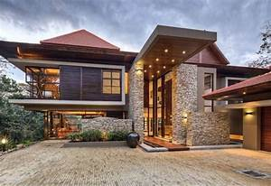 The Wood and Stone Modern Home