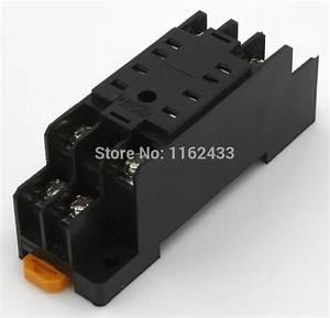 Pyf08a 8 Pin Relay Socket Base For My2 Hh52p H3y 2