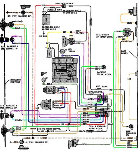 Chevelle Wiring Diagrams