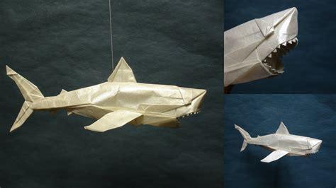 Origami Great White Shark Artist Galen