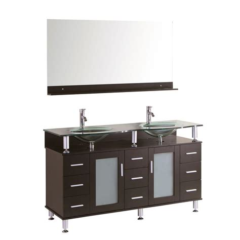 Kokols Modern Bathroom Vanity by Wyndham Collection Avara 60 In Vanity In Espresso With