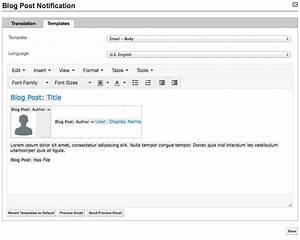 Examples customize email templates and notifications for It notification email template