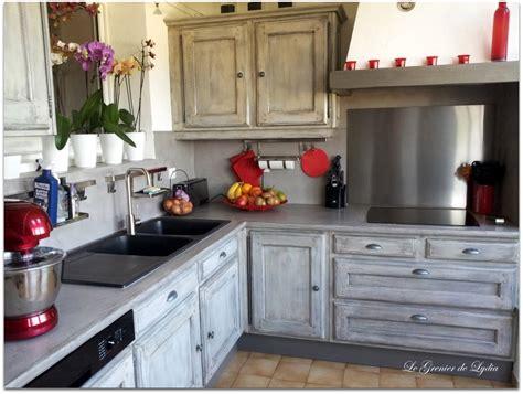 relooking de cuisine relooking d 39 une cuisine rustique patine esprit indus