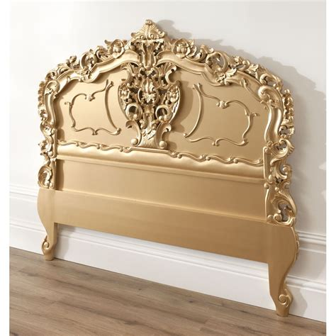 Antique Style Headboards by Gold Rococo Antique Headboard Working Exceptional