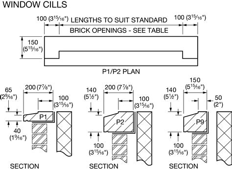 Window Sill Dimensions by Image Result For Cast Sill Dimensions
