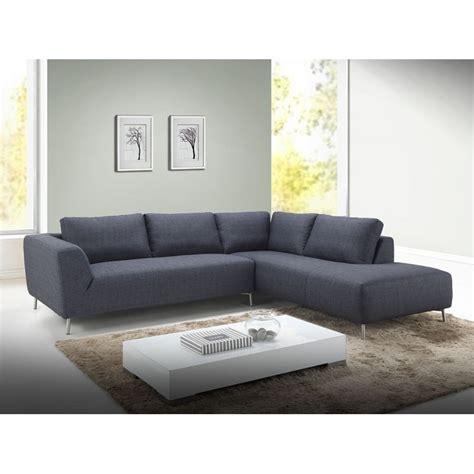 canap 5 places droit canapé d 39 angle côté droit design 5 places avec méridienne