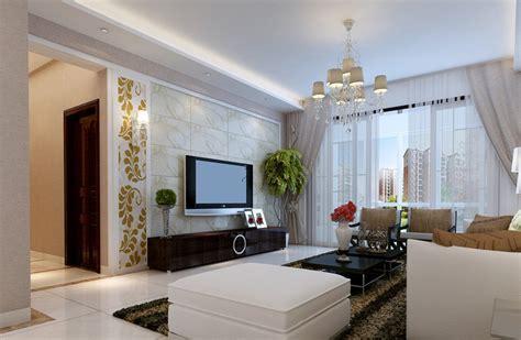 Pastoral Style Living Room Interior Design