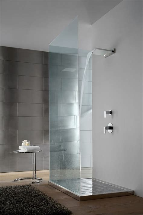 waterfall shower ideas  pinterest