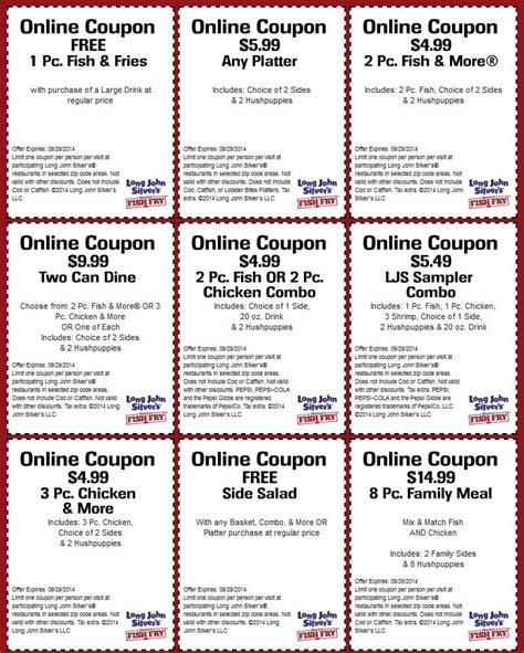 Long John Silvers Coupons | Coupon Codes Blog