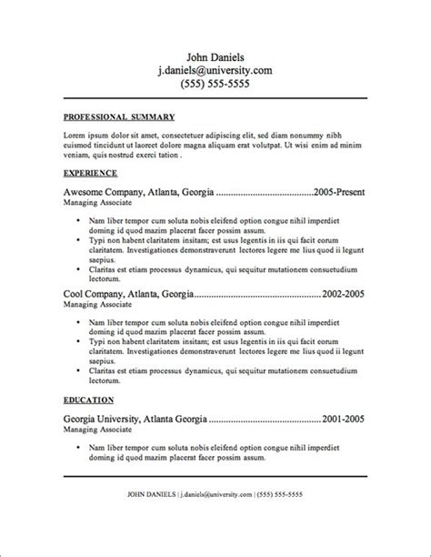 Most Popular Resumes by Resume 2016 Resume Format And Sles Current