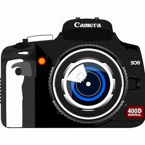 Clipart Camera - dothuytinh