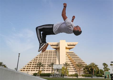 What is parkour? The extreme sport that has surged in ...