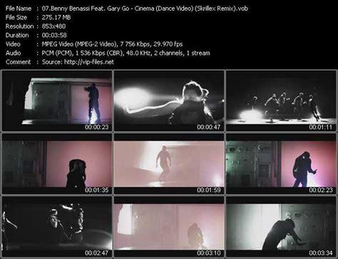 Benny Benassi Feat Gary Go  Cinema Dance Video Skrillex
