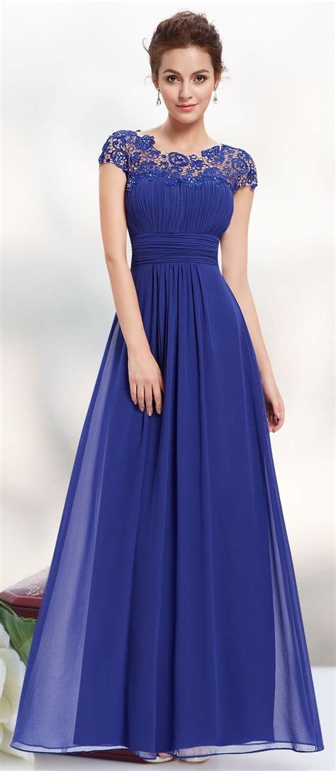 royal blue long evning dress atroressclothes closet ideas