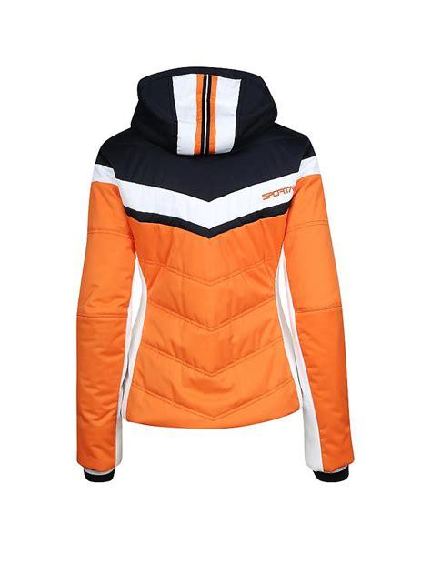 sportalm damen skijacke thollon orange