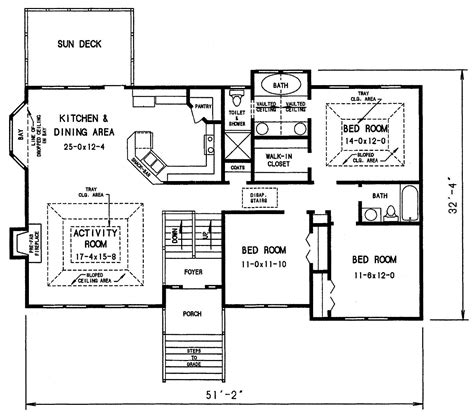 split level floor plan the dahlonega 3303 3 bedrooms and 2 baths the house