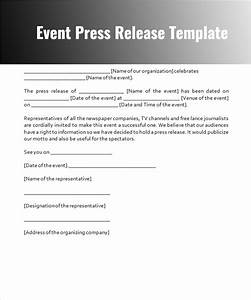 press release templates free word pdf doc formats With event press release template word