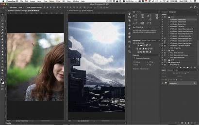 Photoshop Document Open Multiple Window Tabs Consolidate