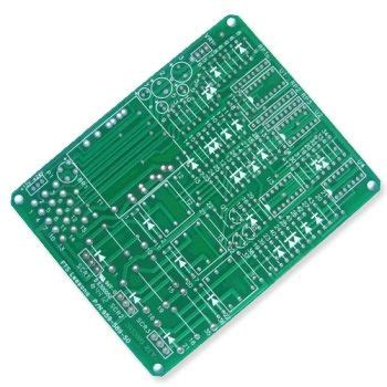 Pcb Layer Fabrication With Green Soldermask