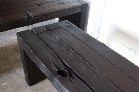Yakisugi Parson Bench « REDUXindustry