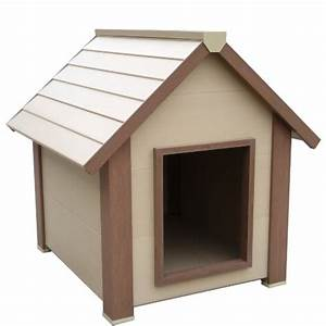 Black friday new age pet ecoconcepts hi r super insulated for Insulated dog houses for medium dogs