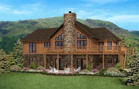 north carolina home plan  golden eagle log timber homes