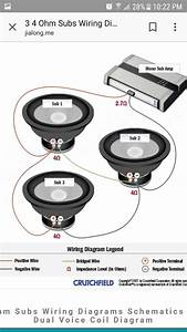 Diagram 1 Ohm Wiring Subwoofer Diagrams 3 Subs Full Version Hd Quality 3 Subs Diagramforlife Magliaromastore It