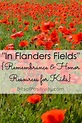 """""""In Flanders Fields"""" {Free Remembrance and Honor Resources ..."""