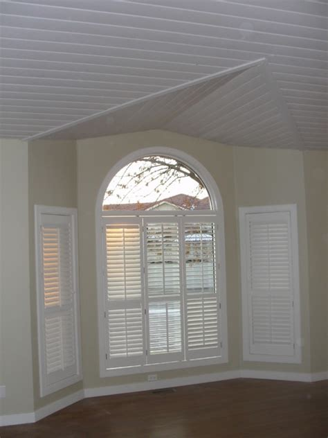 vaulted ceiling  tongue  groove traditional