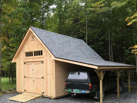 Unique Sheds by Vermont Custom Sheds Large Overhangs