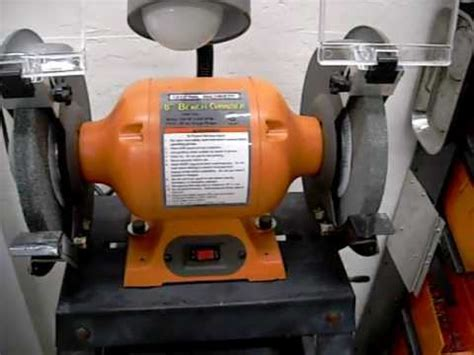 bench grinder reviews harbor freight 8 quot bench grinder review