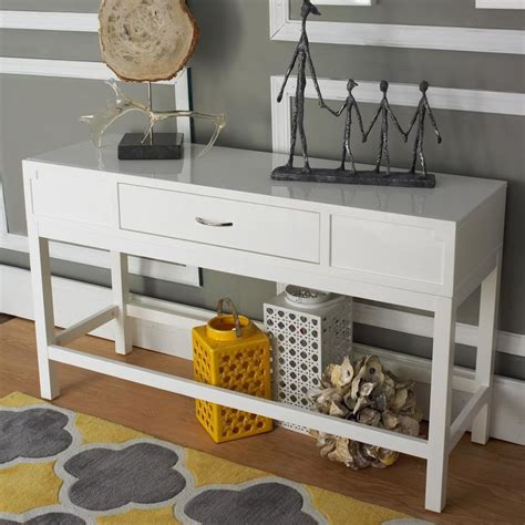white entry table with drawers crystal basket semi flush ceiling light cleanses