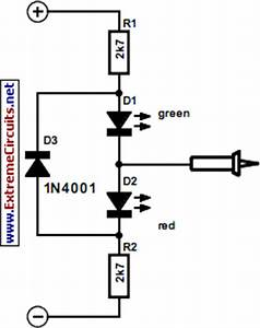 12 24 48 v dc tester circuit diagram With led tester circuit