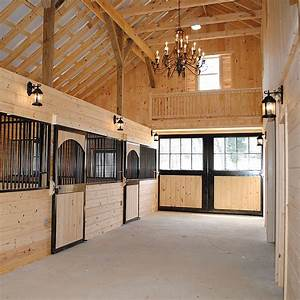custom horse stall precise buildings With barn stall lights