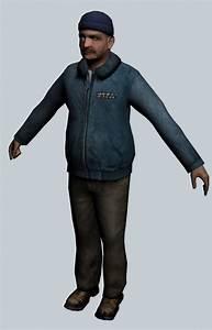 Dudley Concrete Design Colonel Odessa Cubbage Half Life Character 3d Model 3ds