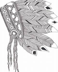 best 25 native american print ideas on pinterest With indian headdress template