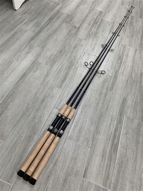 carbon fiber series inshore graphite spinning rods connley fishing
