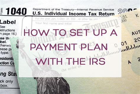 set   irs payment plan mazuma business accounting