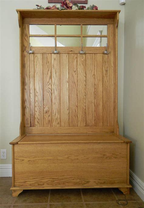 coat rack bench entryway bench coat rack with 4 rack hook and oak 2292