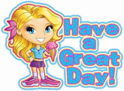Glitter Graphics Clipart Greetings Morning Icecream Graphic