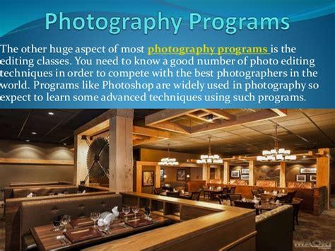 Digital Photography Classes, Photography Programs